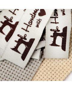 Нашивка «Hand made», 4.5 × 1.5 см
