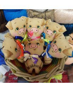 Свинки-брелоки