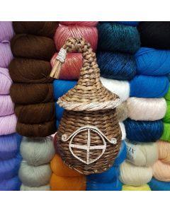 Плетеный домик