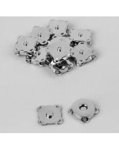 Кнопки магнитные пришивные, d = 18 мм, серебро