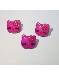 Пуговица пластиковая Hello Kitty