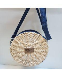 """Плетеная сумочка """"Джинс"""""""